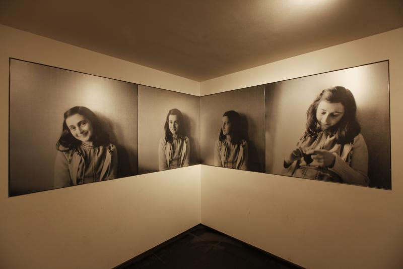 Anne Frankhuis  (Foto: Anne Frank Stichting / Fotograaf: Cris Toala Olivares)