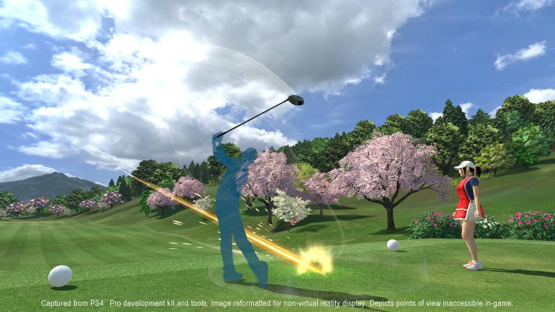 Everybody's Golf VR (Foto: Sony PlayStation)
