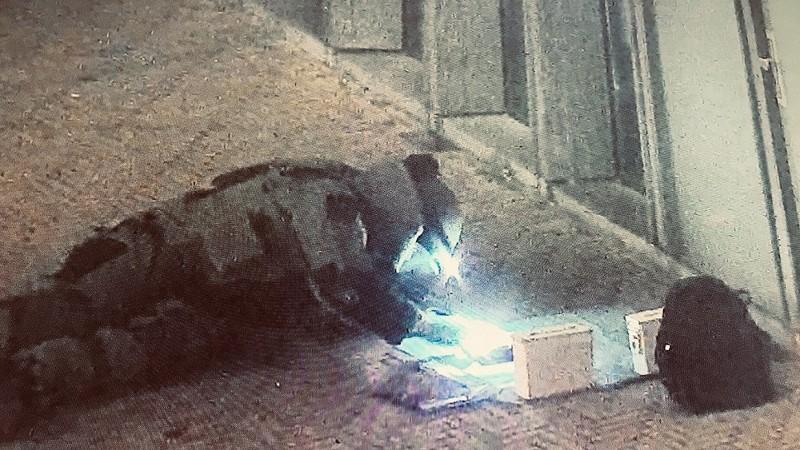 Explosieven aangetroffen na mislukte plofkraak (Foto: Politie.nl)