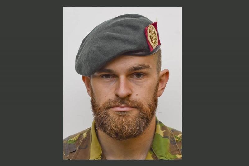 Korporaal Mark Ruben (Bron: Ministerie van Defensie)