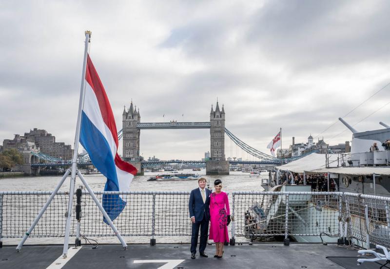 Koninklijk bezoek op Zr. Ms. Zeeland (Foto: Defensie.nl)