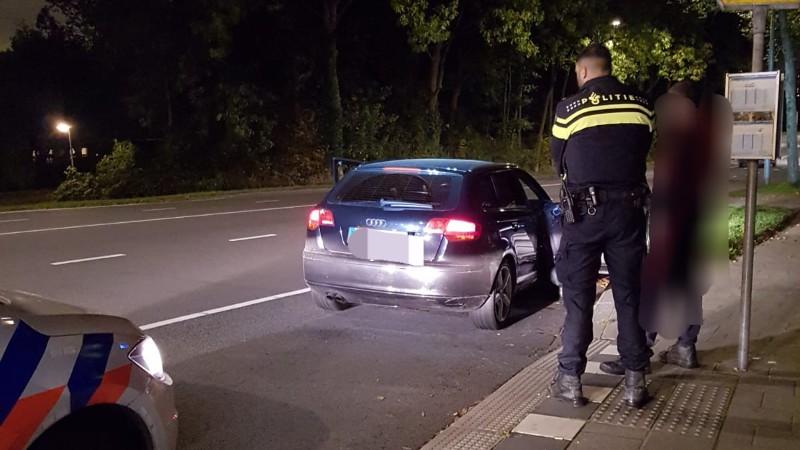 Wapens in beslag genomen bij preventieve fouilleeractie (Foto: Politie.nl)