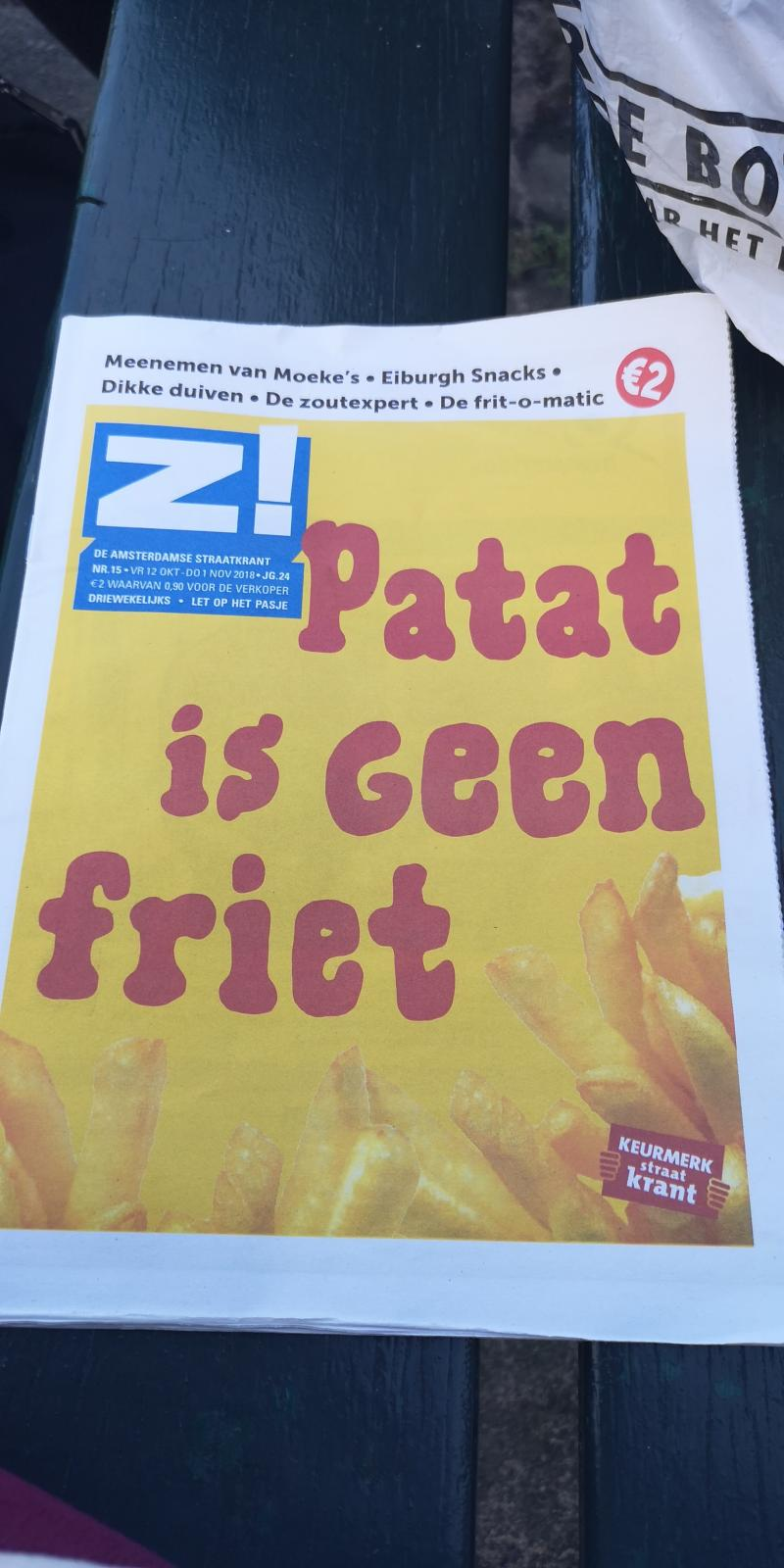 Einde discussie: patat is geen friet