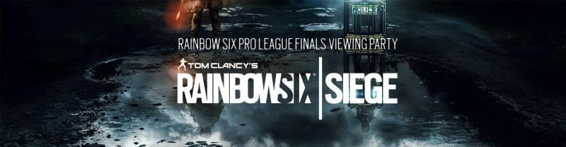 Rainbow Six viewing party in Rotterdam