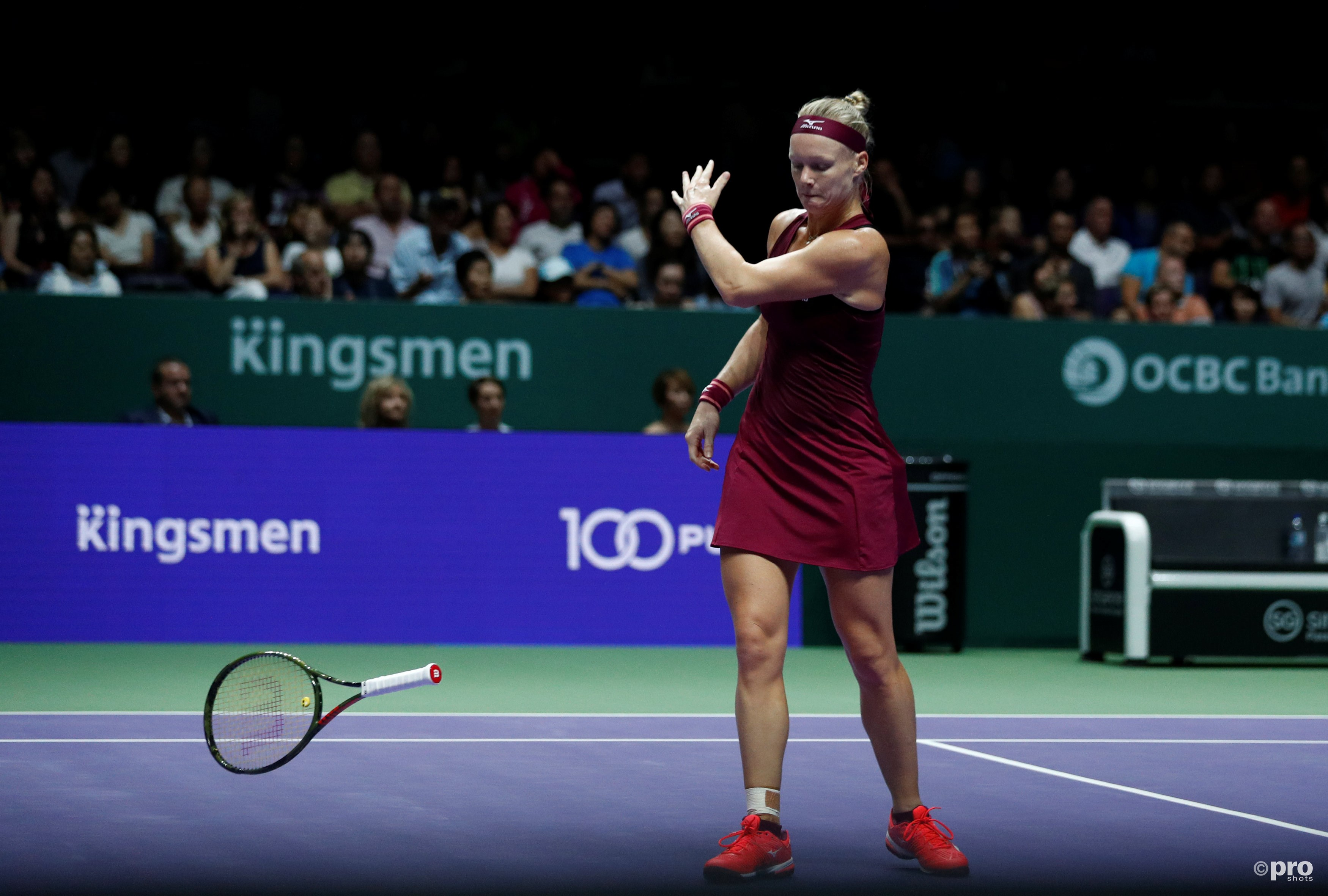 Bertens uitgeschakeld in halve finale WTA Finals (Pro Shots / Action Images)