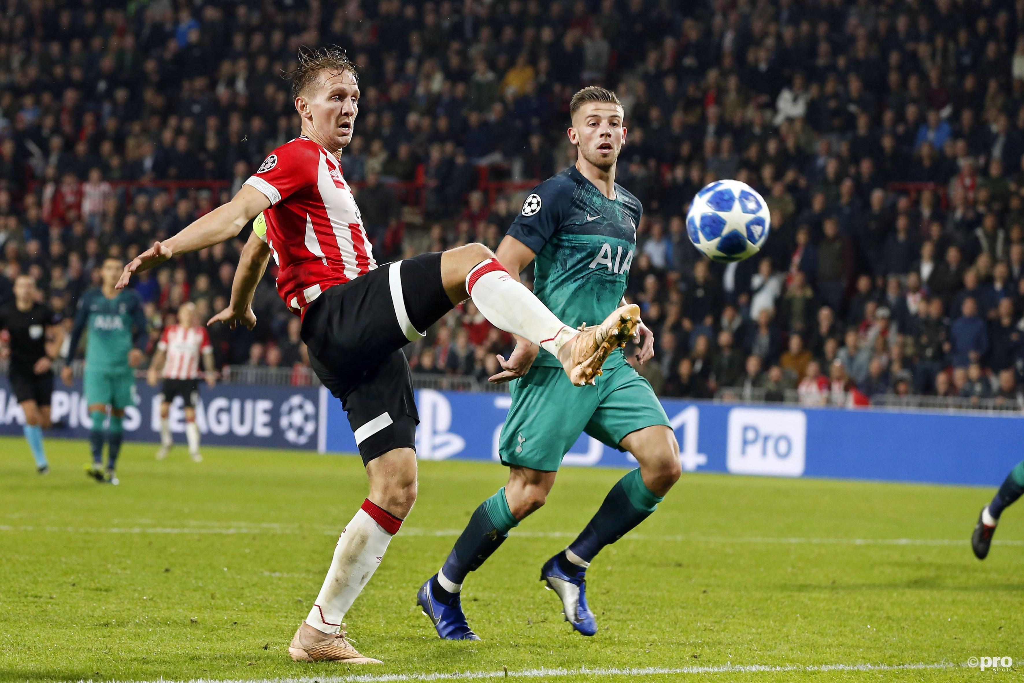 PSV - Spurs 2-2. (PRO SHOTS/Thomas Bakker)