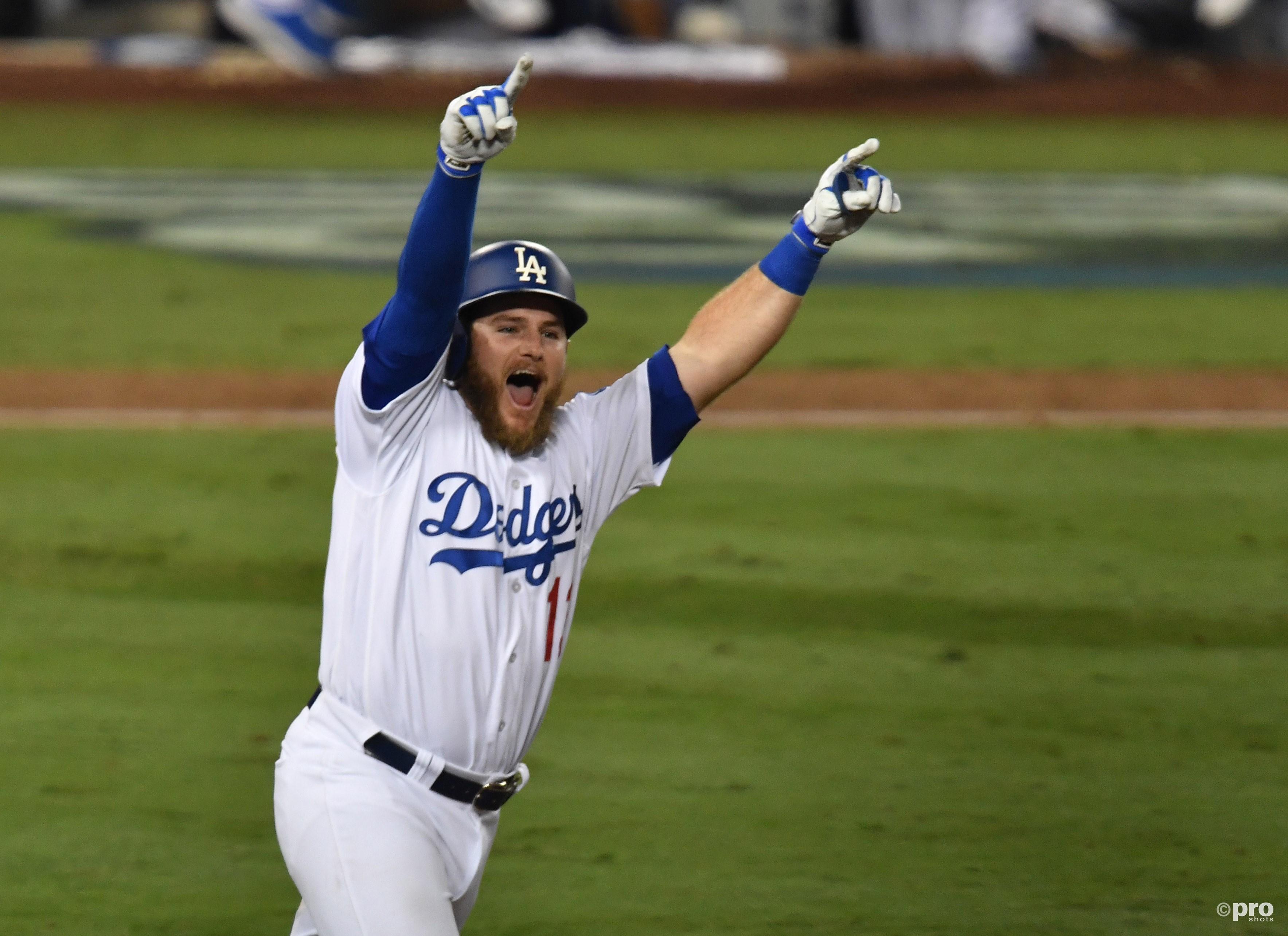 Dodgers winnen het duel. (PRO SHOTS/Action Images)