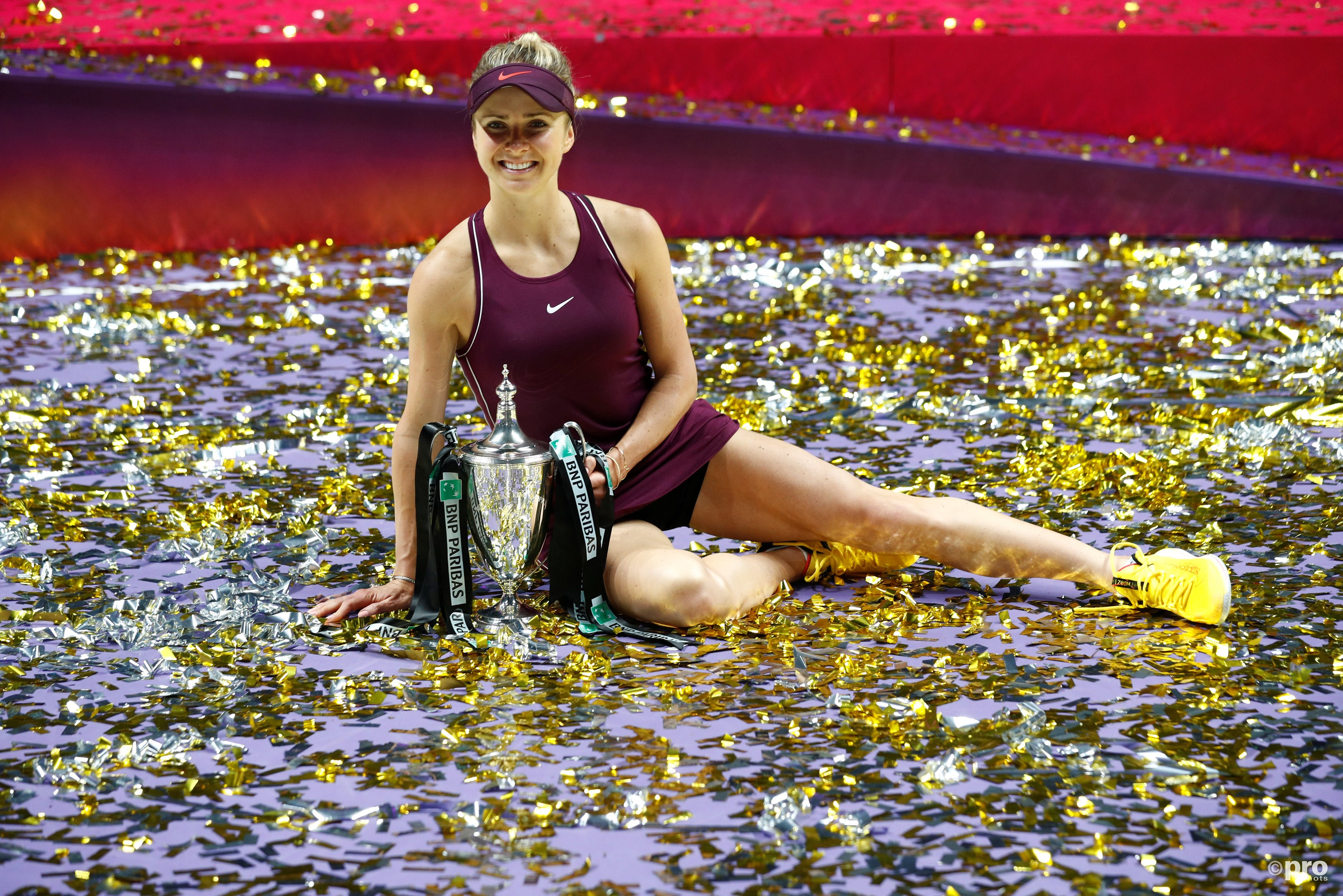 Svitolina wint WTA Finals. (PRO SHOTS/Action Images)