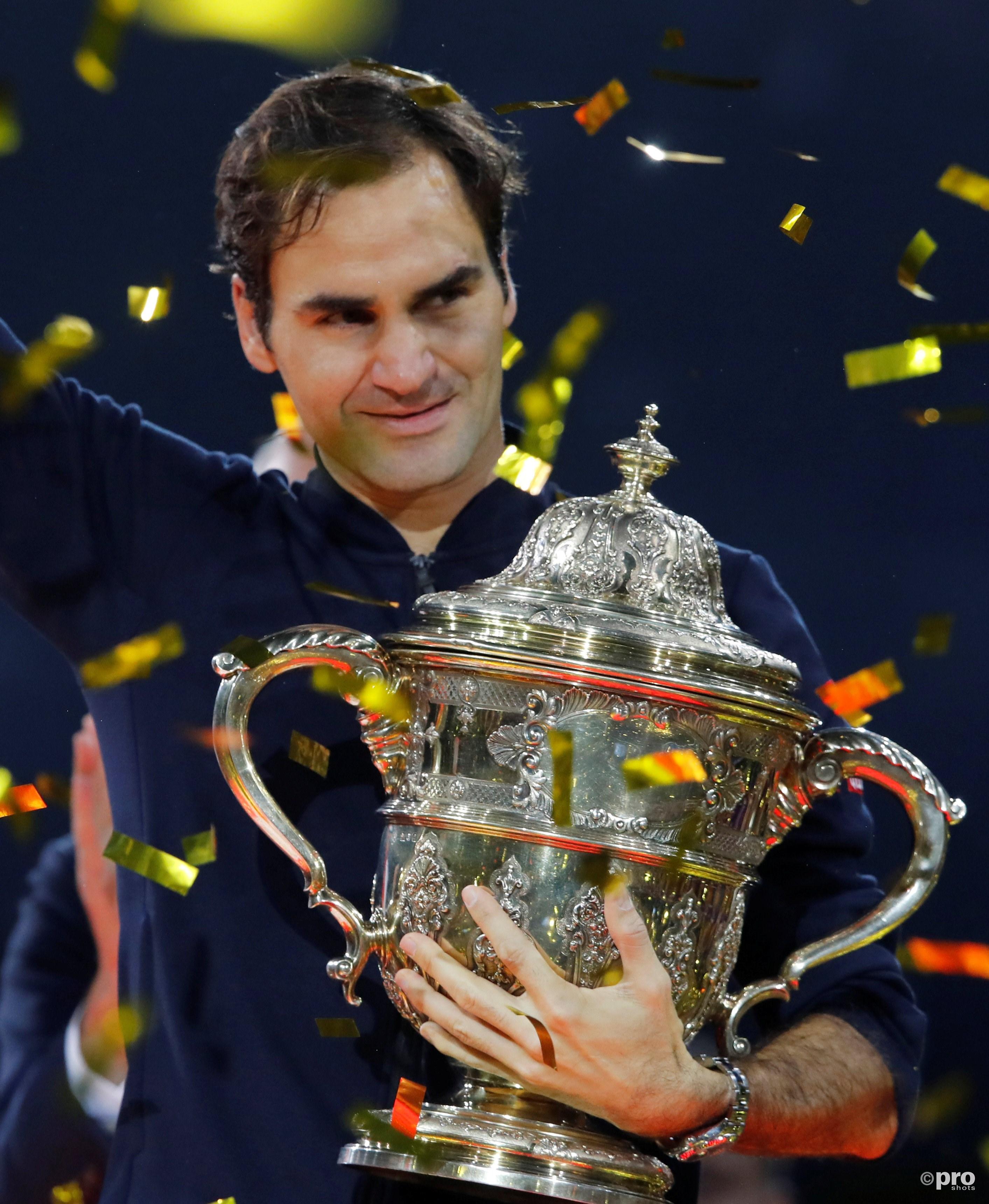 Toernooizege #99 voor Roger Federer. (PRO SHOTS/Action Images)