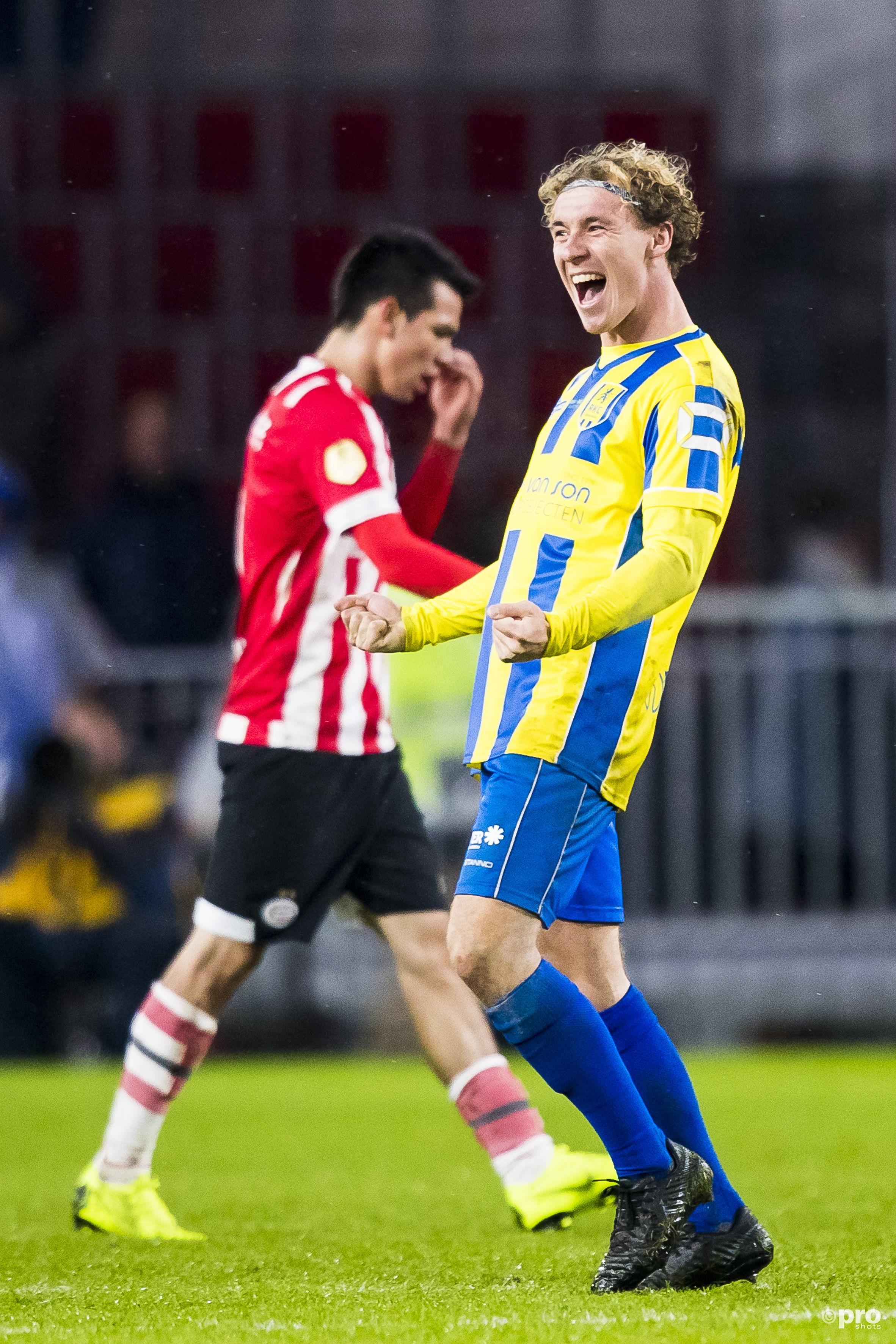 RKC wint van PSV. (PRO SHOTS/Joep Leenen)