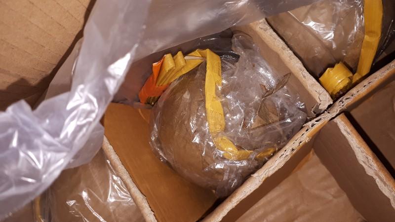 Tientallen kilo's mortierbommen gevonden