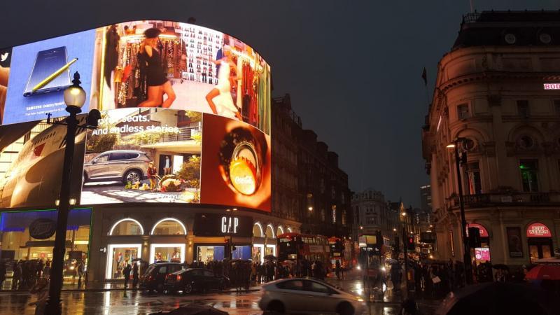 Avond in Londen (Foto: Iteejer)