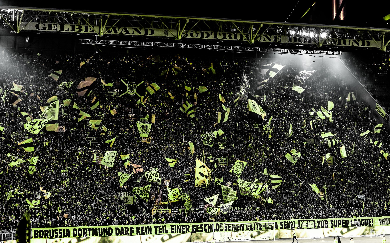 Feest bij in Dortmund. (PRO SHOTS/Witters)