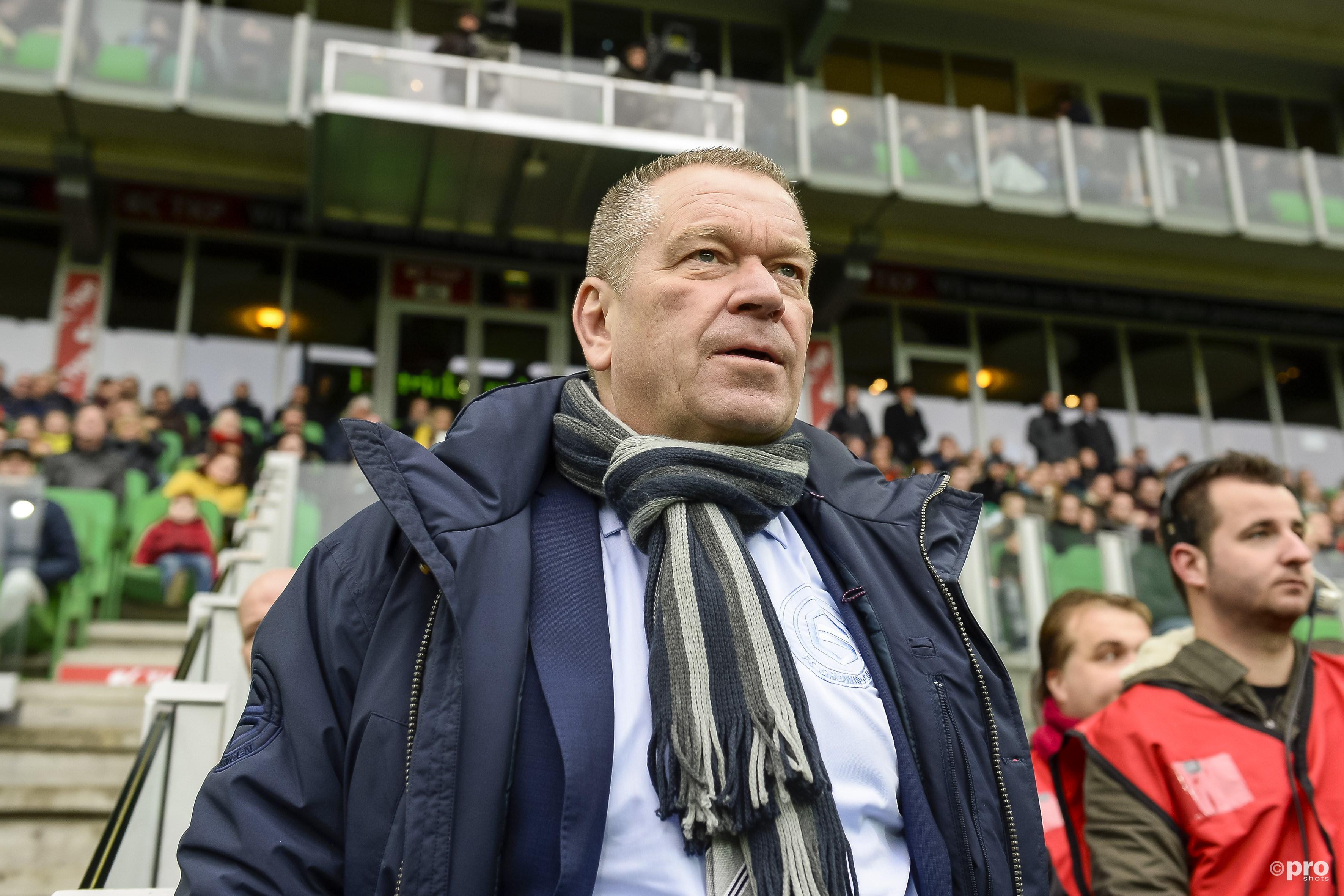 Hans Nijland gaat weg bij FC Groningen. (PRO SHOTS/Cor Lasker)