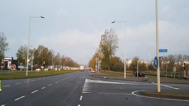 Automobilist ernstig gewond geraakt bij aanrijding (Foto: Politie.nl)
