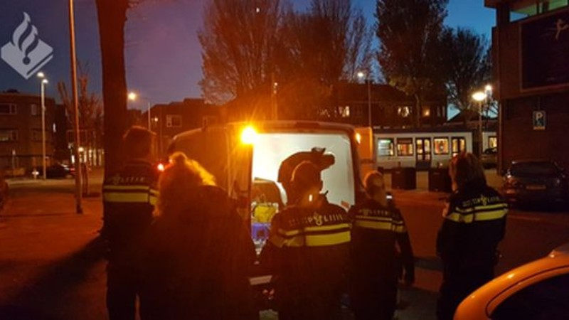 Politie neemt 101 kg (illegaal) vuurwerk in beslag (foto politie.nl)