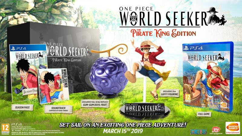 One Piece: World Seeker - Pirate King Edition (Foto: Bandai Namco)