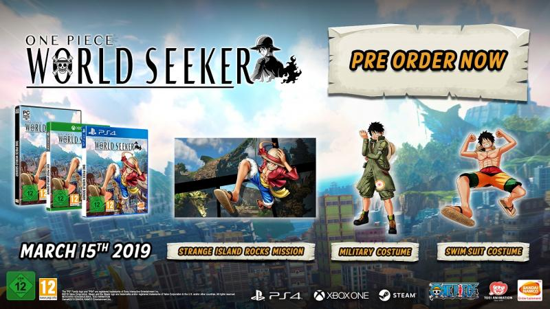 One Piece: World Seeker - Preorder bonus (Foto: Bandai Namco)