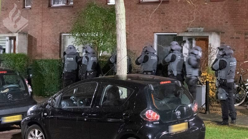 Politie pakt 2 leiders Caloh Wagoh op (Foto: Politie.nl)