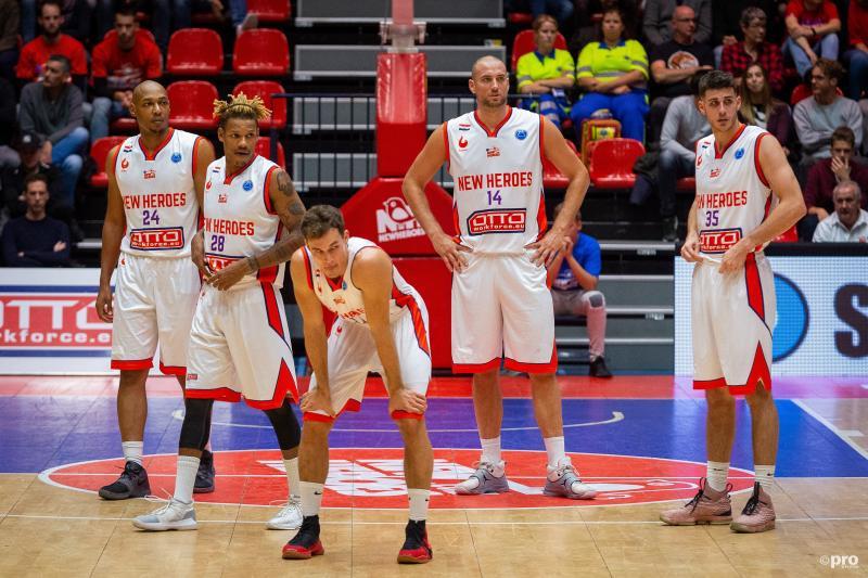 Basketballers Den Bosch uitgeschakeld in Europa (Pro Shots / Peter van Gogh)