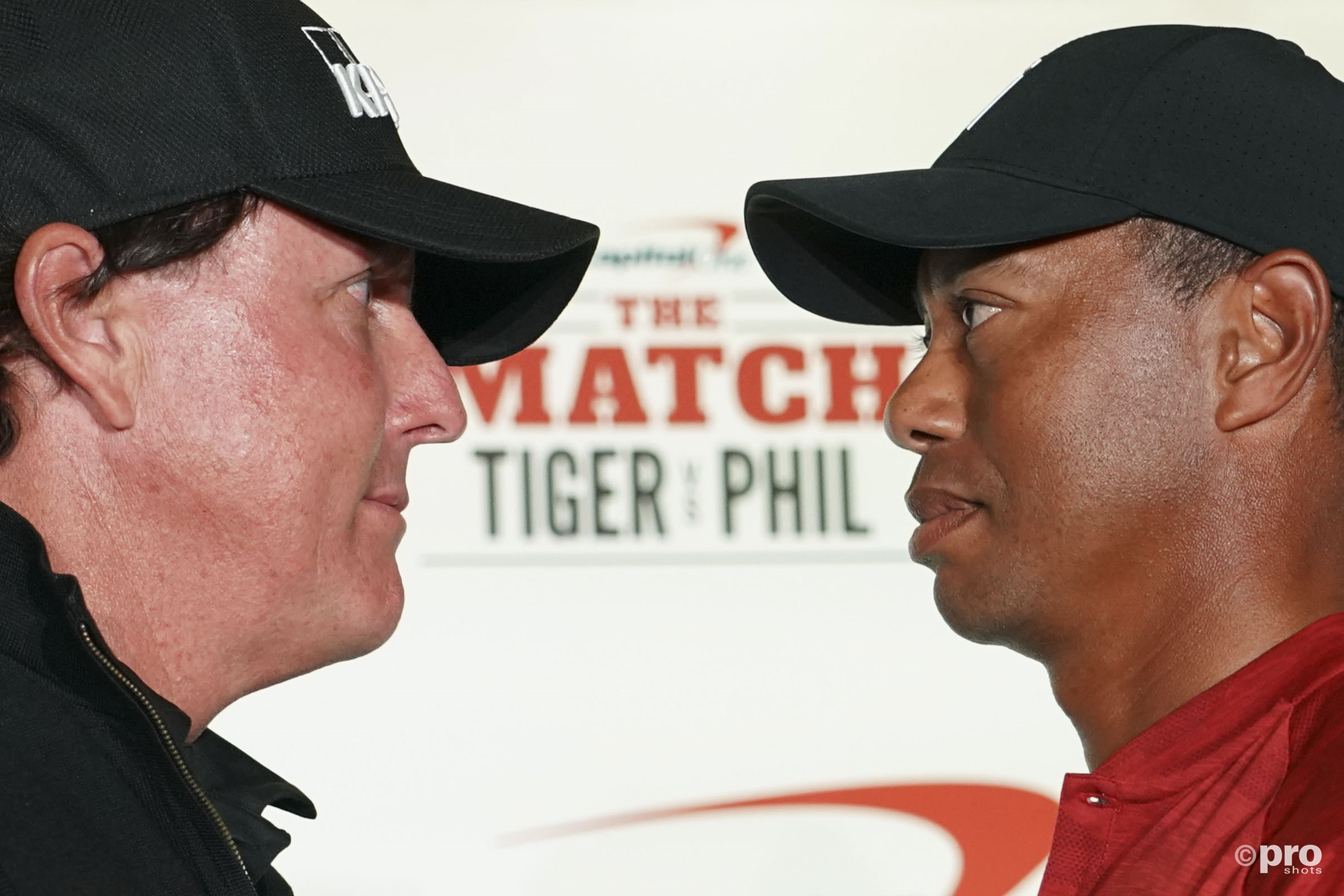 The Match: Phil Mickelson vs Tiger Woods (Pro Shots / Action Images)