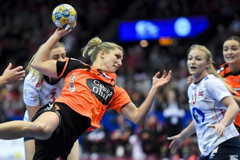 Finale EK handbal in 2016 tussen Nederland en Noorwegen (Pro Shots / Bildbyran)