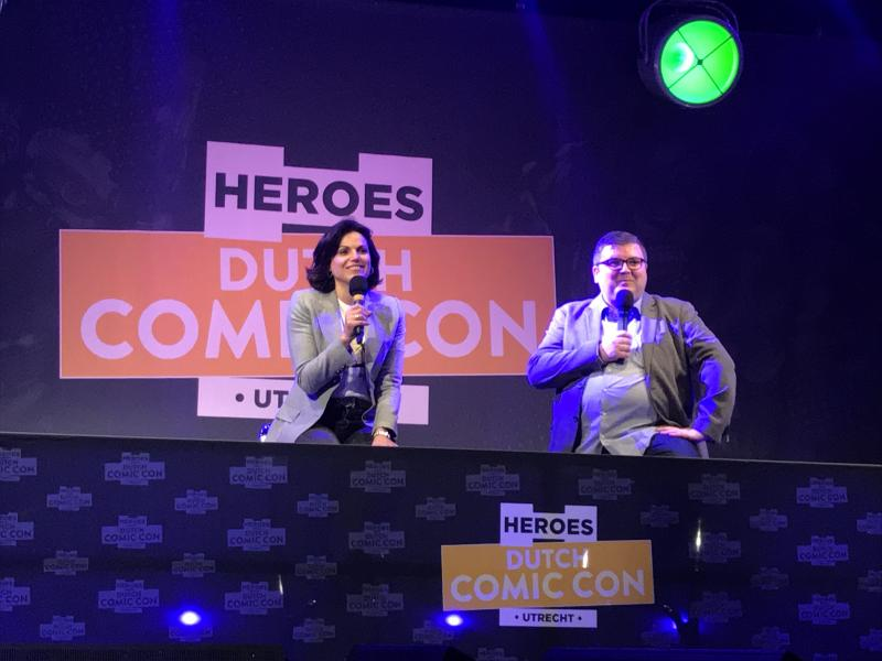 Dutch Comic Con 2018: Lana Parilla (Foto: Daan de Witte)