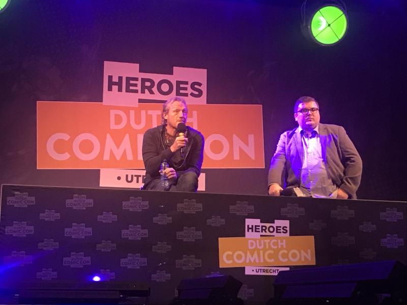 Dutch Comic Con 2018: Jerome Flynn (Foto: Daan de Witte)