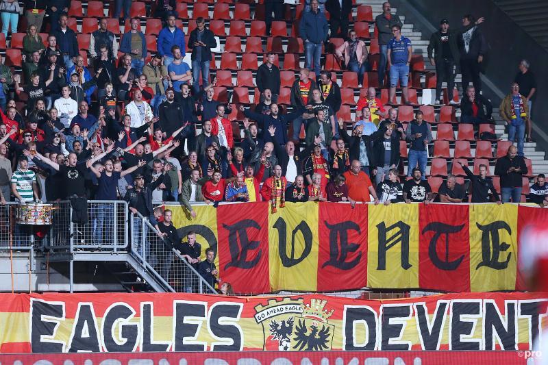 Supportersgeweld Go Ahead Eagles op station Zwolle afgestraft (Pro Shots / Paul Roling)