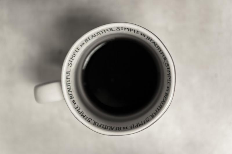 Zwarte Koffie? Dan ben je wellicht psychopaat! (foto: PXhere)