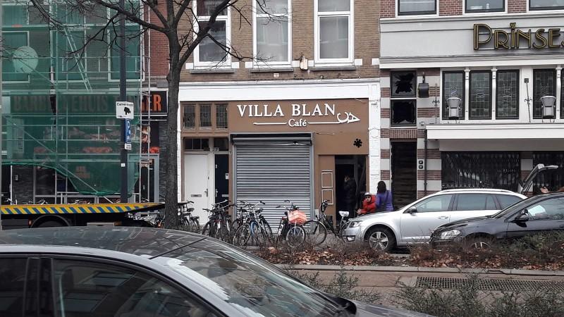 Politie onderzoekt explosie shishalounge in Rotterdam (Foto: Politie.nl)