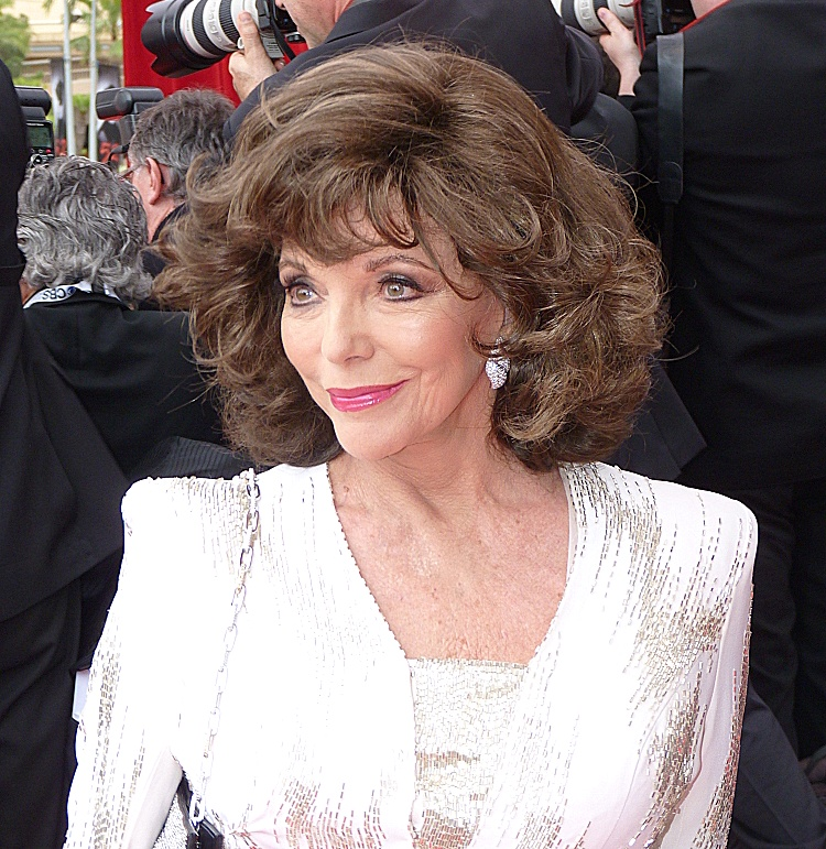 Joan Collins (foto: Door Frantogian - Eigen werk, CC BY-SA 3.0, https://commons.wikimedia.org/w/index.php?curid=19897260)