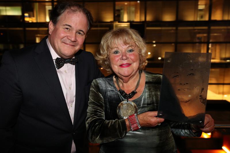 Tineke de Nooij geëerd in de Wall of Fame van Beeld en Geluid (Foto: Beeld en Geluid)