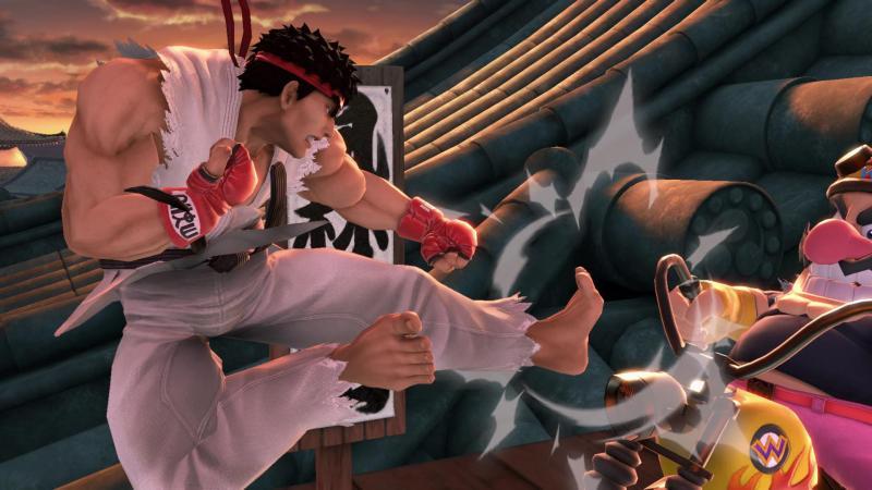 Super Smash Bros. Ultimate - Ryu vs Wario (Foto: Nintendo)