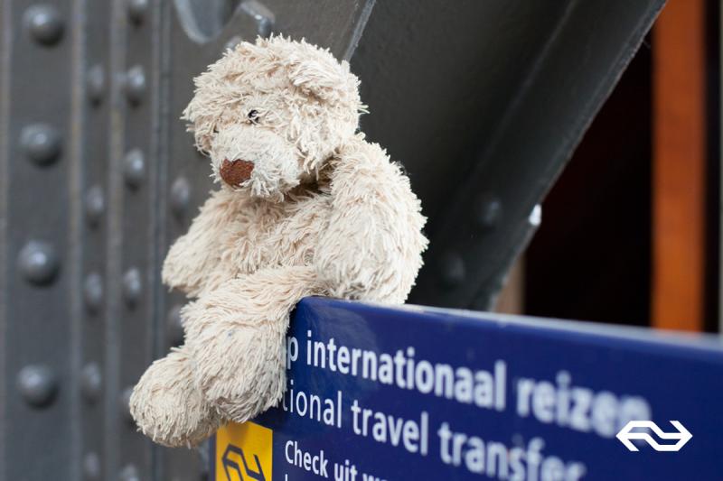 NS zoekt baasjes van verloren knuffels (Foto: Nederlandse Spoorwegen)