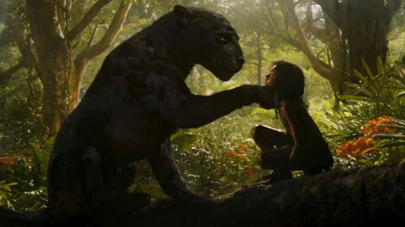 Mowgli bagheera en mowgli
