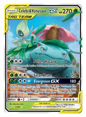 Pokemon Trading Card - Tag Team GX Celebi-Venusaur (Foto: Pokemon Company)