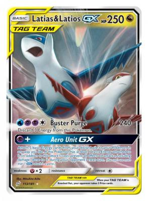 Pokemon Trading Card - Tag Team GX Latias-Latios (Foto: Pokemon Company)