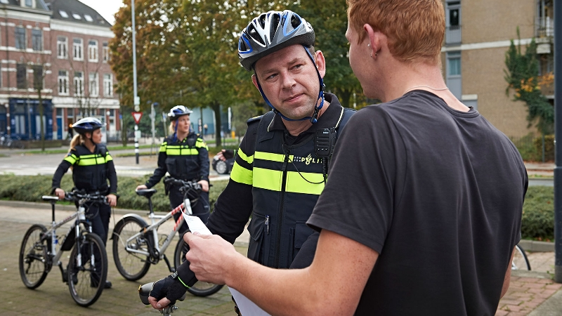 Politie Westland zet Geocaching in tegen criminaliteit (Stockfoto politie.nl)