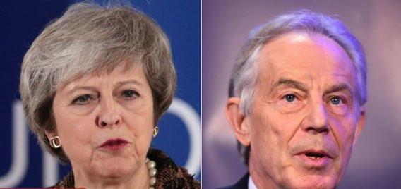 May geeft Blair uitbrander