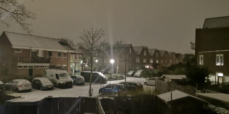De eerste sneeuw (Foto: DJMO)