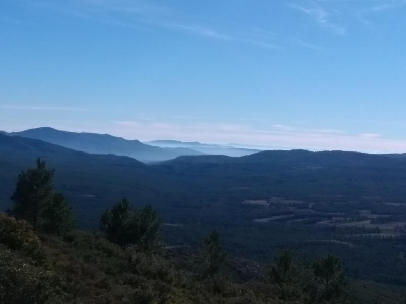 Uitzicht bij Pico de la Atalaya, Spanje. (Foto: Kroezel)