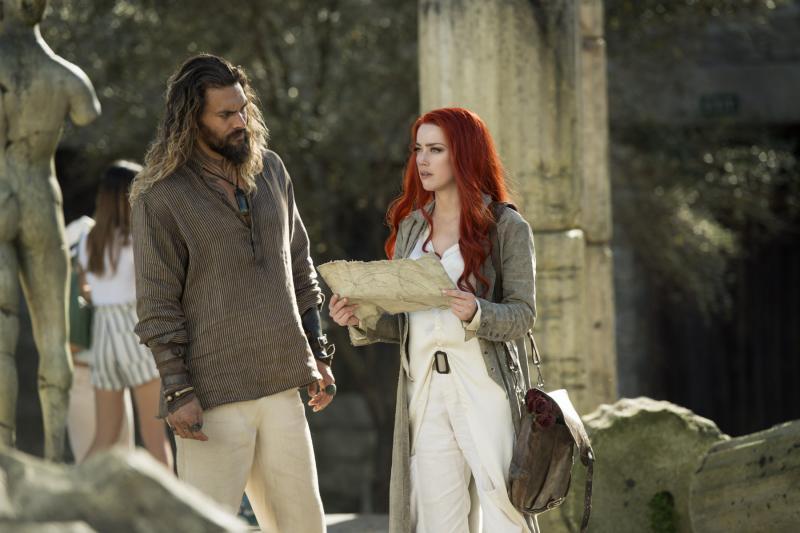 Aquaman: Jason Momoa en Amber Heard