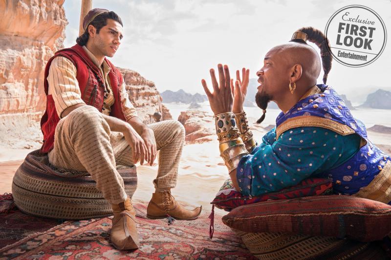 Aladdin en de Geest
