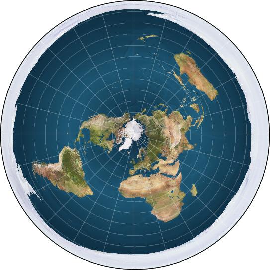 Platte aarde (Wikipedia)