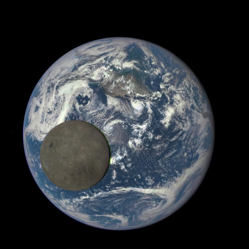 The Dark Side Of The Moon (NASA)