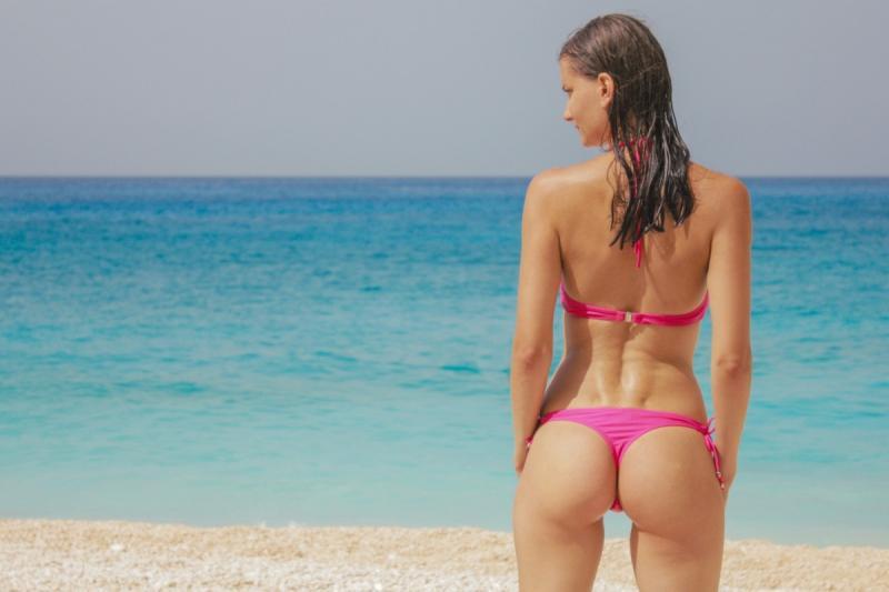 Bikini. Strand. Gewoon.. Omdat het kan.