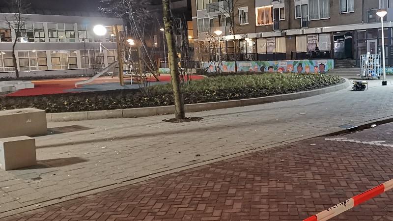 Neergeschoten schutter schoot op agenten (Foto: Politie.nl)