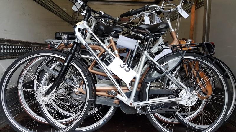 Politie treft 60 gestolen fietsen aan (Foto: Politie.nl)
