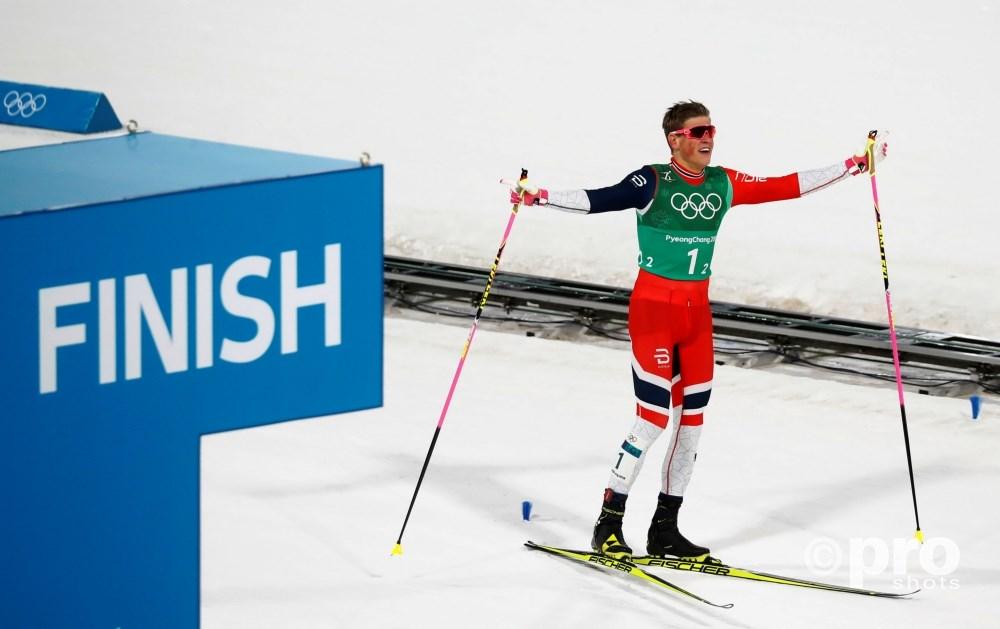 Johannes Høsflot Klæbo gaat na zijn goudjacht in Pyeongchang voor zijn eerste Tour de Ski-titel (Pro Shots/Action Images)